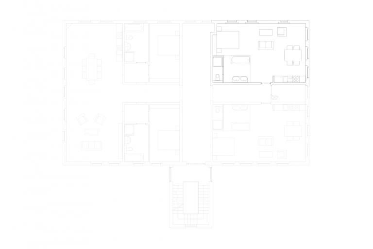 Gut Üselitz – Ferienwohnungen und Veranstaltungsort Wohnung 2. OG rechts (1)