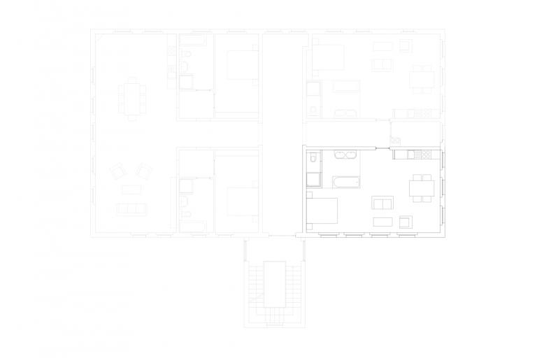 Gut Üselitz Wohnung 2. OG rechts (2)